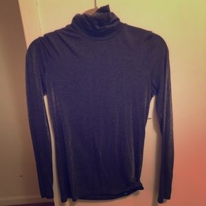 Metallic Club Monaco turtleneck
